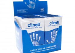 Clinell Antimicrobial Hand Wipes (Individually Wrapped)
