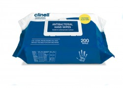Clinell Antimicrobial  Hand Wipes (Not Ind. Wrapped)