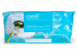 Carell Patient Dry Wipes - Everyday Plus