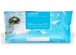 Carell Patient Dry Wipes - Everyday