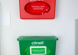 Clinell Wall Mounted Dispenser Lids